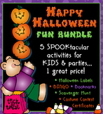Happy Halloween Fun Bundle - Activity Download Collection