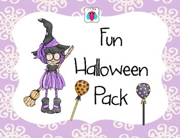 Happy Halloween Fun Pack- Witch Theme