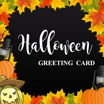 Happy Halloween Greeting Cards