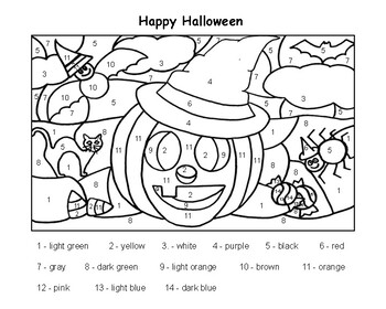 Happy Halloween Jack O'Lantern/Bat Coloring Sheets by Sra ...
