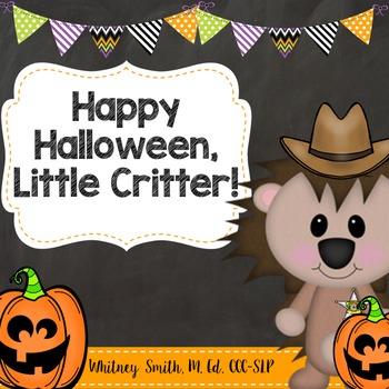 Happy Halloween, Little Critter Book Companion