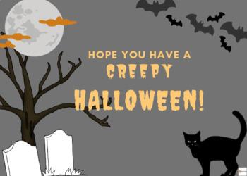 Happy Halloween Note Cards