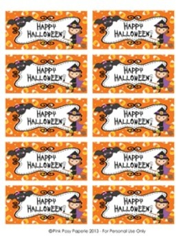 Happy Halloween Printable Party Pack Bundle