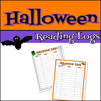 Happy Halloween Reading Log