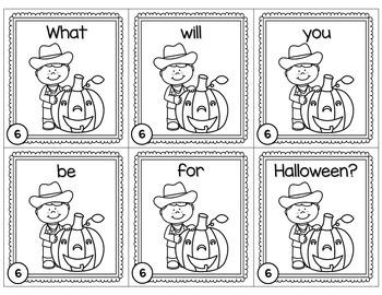 Halloween Scrambled Sentences