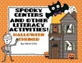 Happy Halloween: Spooky Literacy Centers and Activities