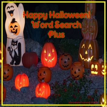 Happy Halloween!  Word Search Plus