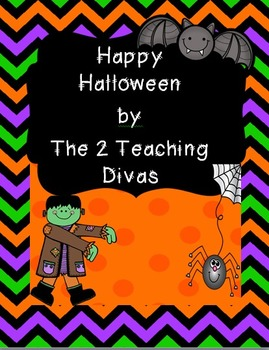 Happy Halloween! by The 2 Teaching Divas