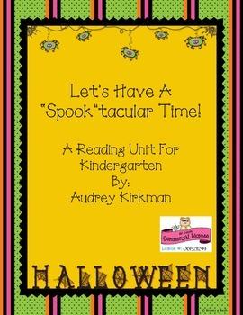 Happy Halloween in Kindergarten
