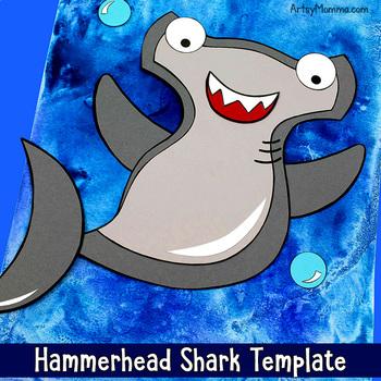 Happy Hammerhead Shark Craft