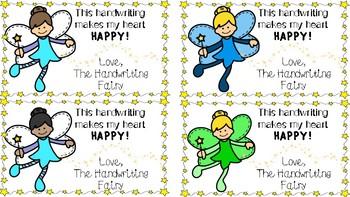 Happy Handwriting with the Handwriting Fairy!