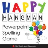 Happy Hangman Spelling Activities Game