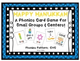 Happy Hanukkah! ~ A Hanukkah (Chanukah) CVC Phonics Card Game