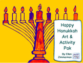 Happy Hanukkah Art & Activity Pak
