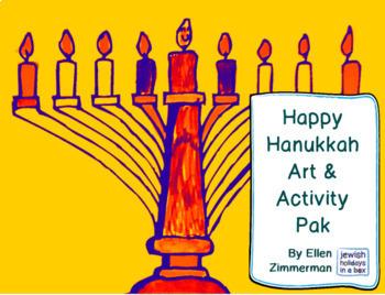 Happy Hanukkah Art & Activity Pak