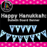Happy Hanukkah Chanukah Bulletin Boarder