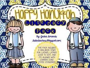 Happy Hanukkah Literacy Pack