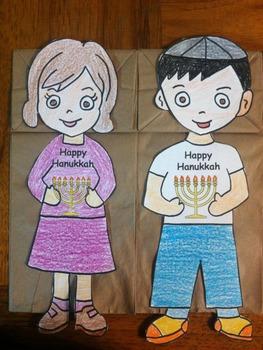 Happy Hanukkah Puppets