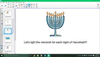 Happy Hanukkah SMARTboard activity!!!