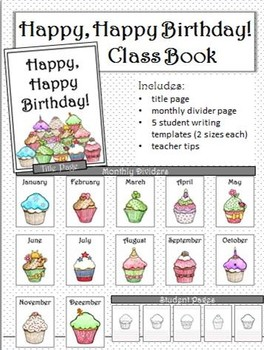 Happy, Happy Birthday! Class Book