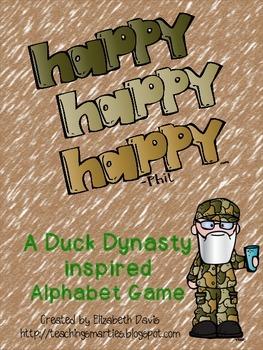Happy, Happy, Happy Alphabet Game (Letter/Sound)