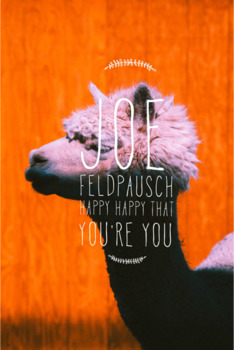 Happy, Happy (That You're You)