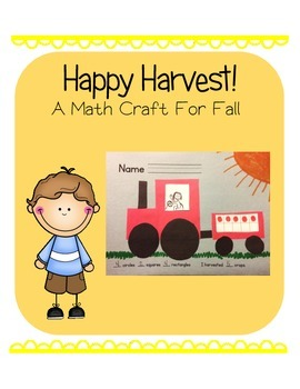 Happy Harvest!  (A Math and Fall Craft or Bulletin Board)