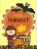Happy Harvest {Art and Literacy Fall Packet}