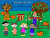 Happy Harvest Clip Art Collection