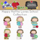 Happy Hattie Loves School Clipart Collection || Commercial Use Allowed