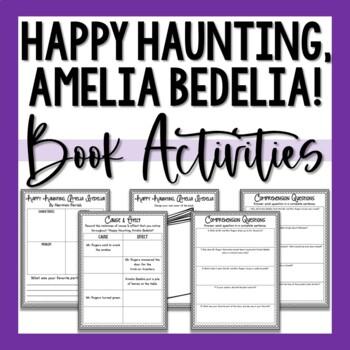 Happy Haunting Amelia Bedelia Activities