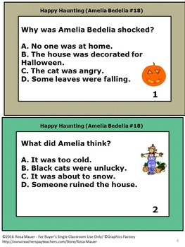 Happy Haunting Amelia Bedelia Book Unit