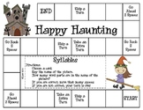 Happy Haunting--Syllables