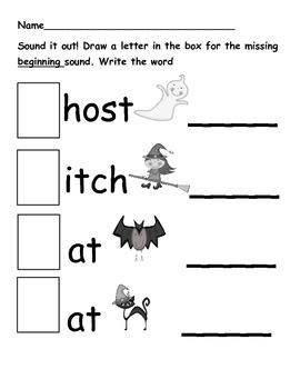 Happy Haunts! Halloween Language and Math Activities for Little Haunts