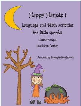 Happy Haunts! Halloween Language and Math Activities for L