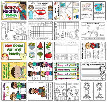 Happy, Healthy Teeth - a mini unit for learning how to care for our teeth