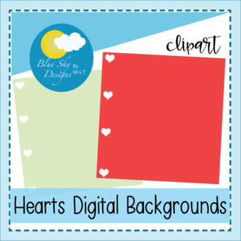 Happy Hearts Papers and Frames