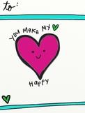 Happy Heart Valentine