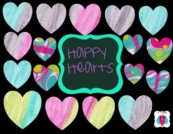 Happy Hearts Clip Art