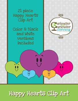 Happy Hearts Clipart