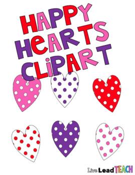Happy Hearts Clipart