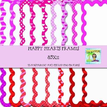 Happy Hearts Frames