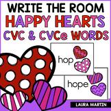 Write the Room-CVC, CVCe
