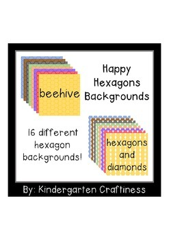 Happy Hexagons Backgrounds