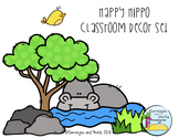Happy Hippo Classroom Decor Set