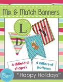 Happy Holiday Banner- Mix & Match
