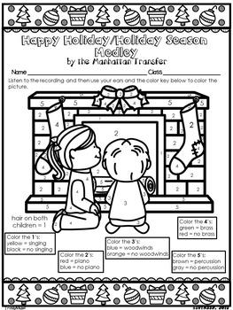 Happy Holiday/Holiday Season Medley(Listening Glyphs)