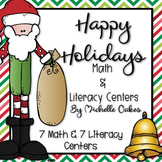 Holiday Math and Literacy Centers
