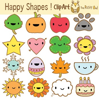 Happy Holiday Shapes