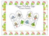 Happy Holiday Tags